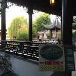 Painted Pavilion at Chinese Garden by Cascade Painting & Restoration