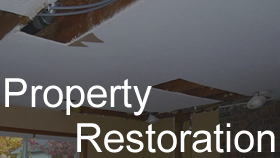 Portland Property Damage Restoration, Water & Filre Damage? Let us help with restoring your home/business.