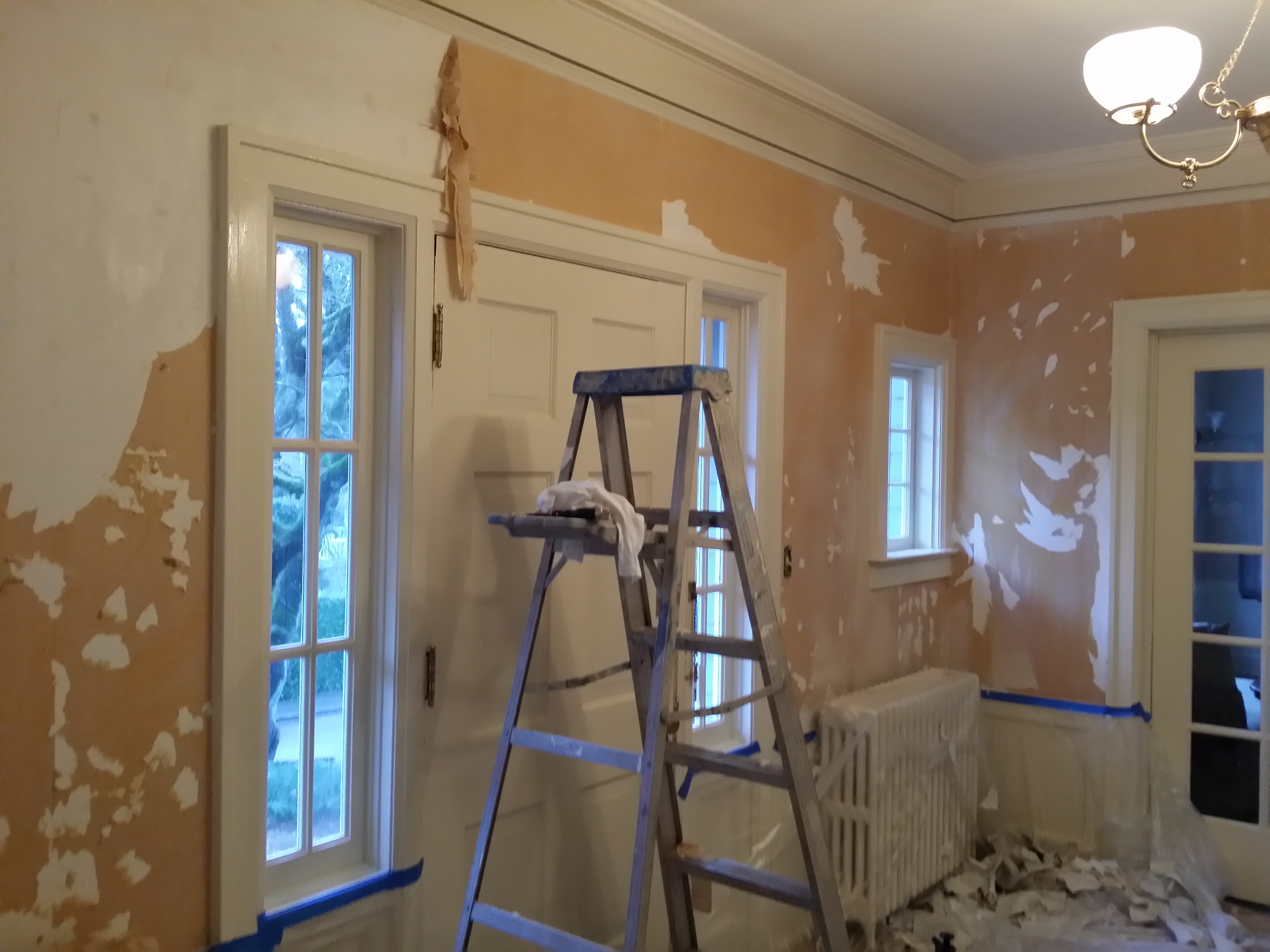 Wall Paper Removal wallpaper removal portland | painting contractors portland-house